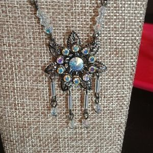 Vintage Crystal Necklace 20-261